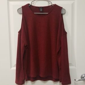 Rue 21 Red Long Sleeve